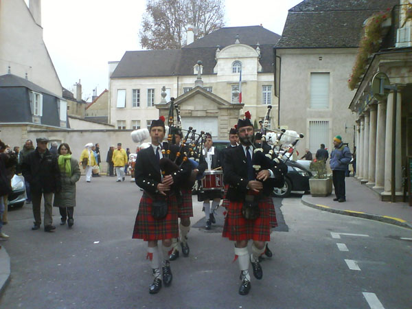 Pipe Band Montmartre Highlanders Beaune