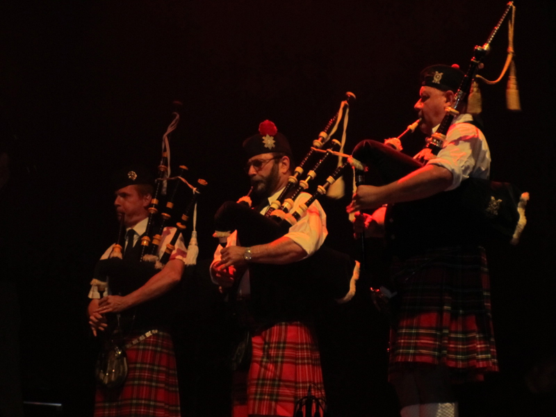 Pipe Band Montmartre Highlanders Coupe du Monde Rugby Saint Denis